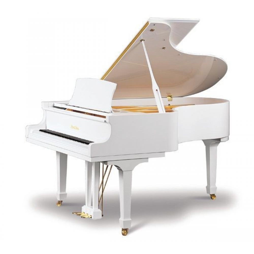 рояль белый фото